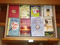 An InStep Drawer can control and manage your books