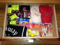 An InStep Drawer can manage your golf accessories